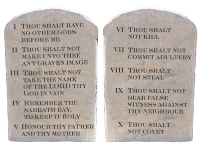 Image result for THE TEN COMMANDMENTS