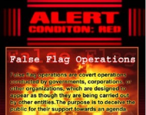 Warning: Another False Flag Coming!