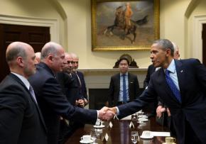 Muslim Brotherhood Leader Meets Obama In WhiteHouse