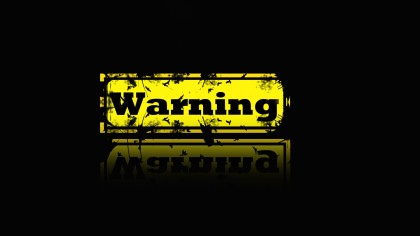 warning-wallpaper