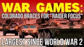 WAR GAMES: Colorado Braces For Largest Since World War2