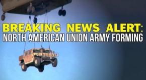 BREAKING: NORTH AMERICAN UNION ARMYFORMING